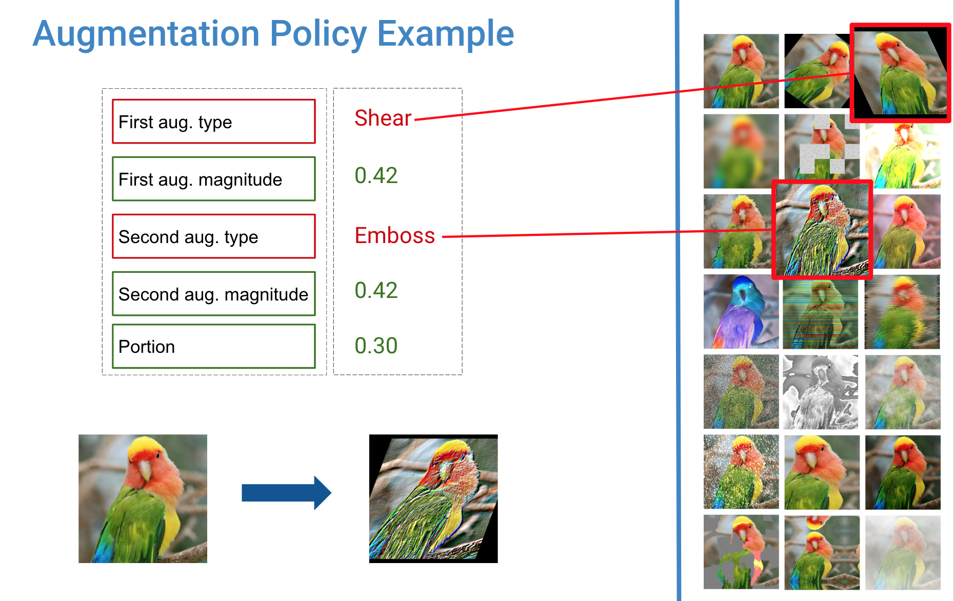 example policy