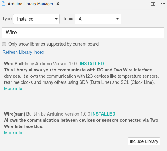 Support of intellisence for library Wire(sam) · Issue #563