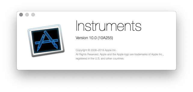 Importing from XCode 10 0 Instruments fails · Issue #163