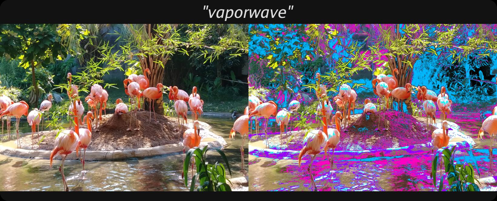 mode:vaporwave