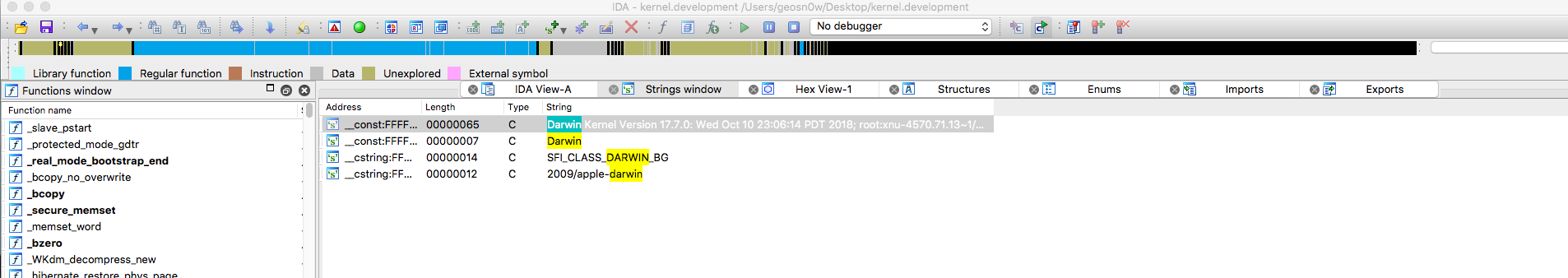 Debugging macOS Kernel For Fun – GeoSn0w – Programmer  Hacking stuff