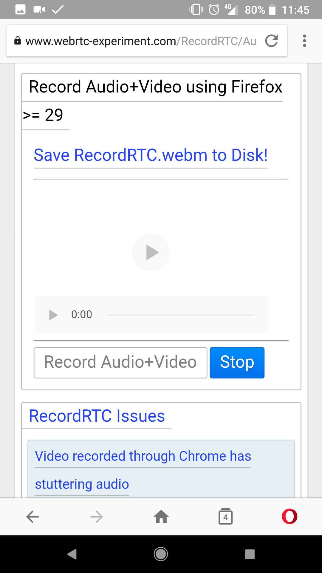 Set video src from a Blob · Issue #49 · SamsungInternet/support · GitHub