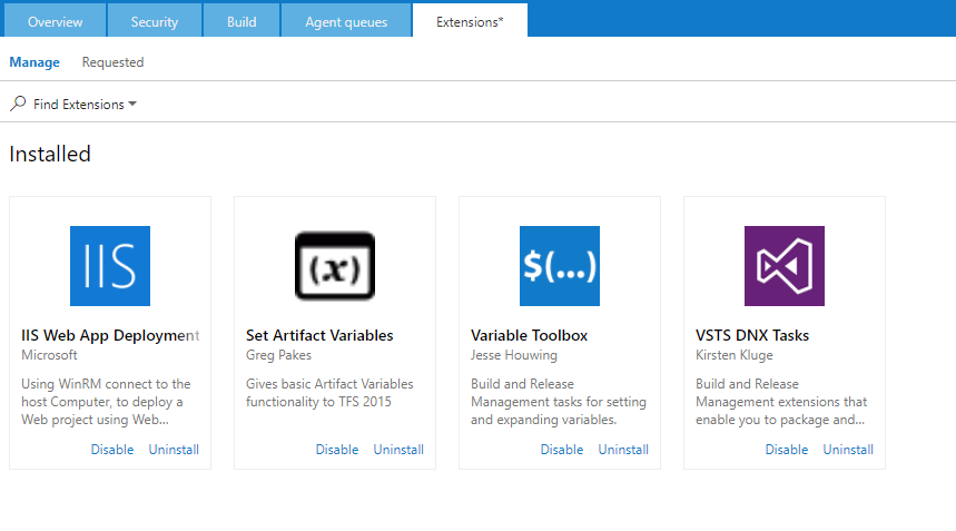 TFS 2015 Version 14 X · Issue #25 · kirkone/vsts-dnx-tasks