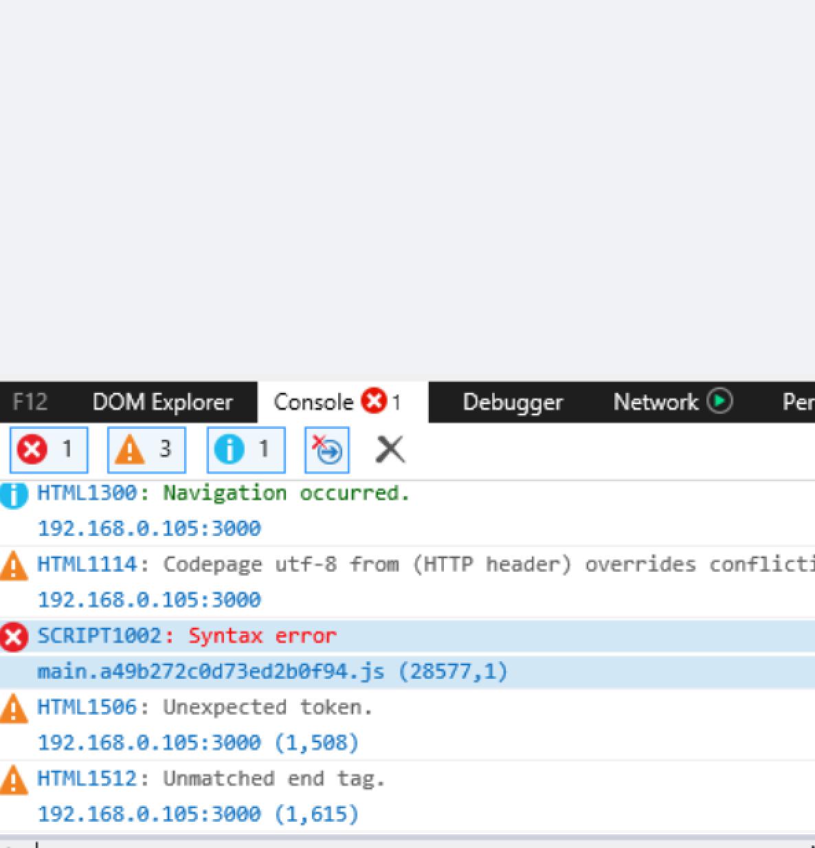 SCRIPT1002: Syntax error - IE11 · Issue #1433 · react-dnd/react-dnd