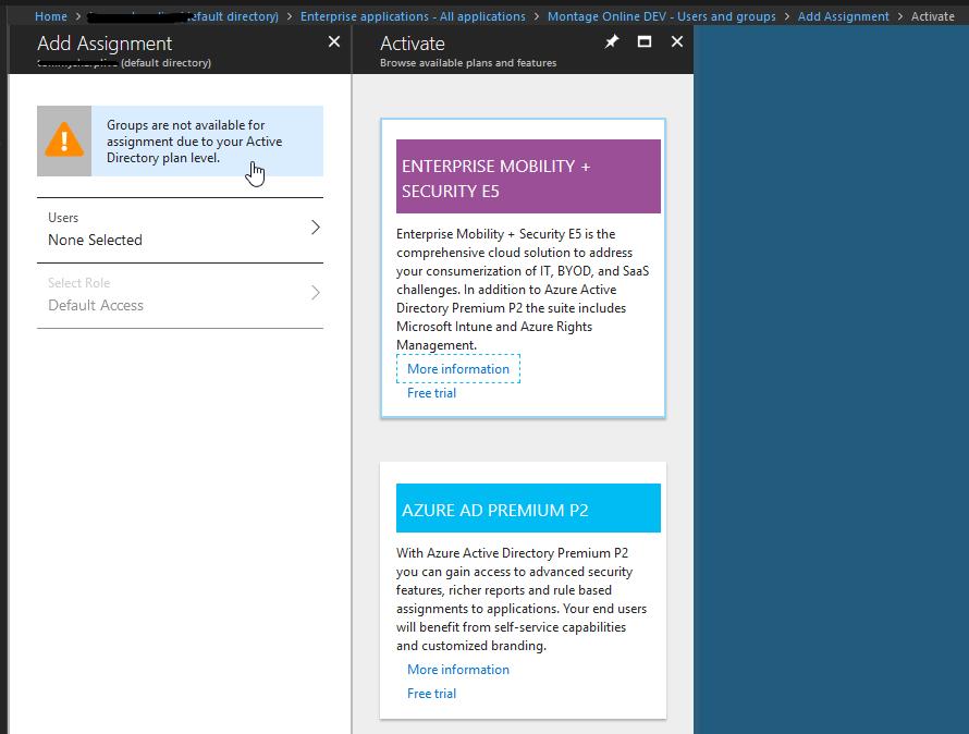Azure AD Premium P2 required? · Issue #9512 · MicrosoftDocs
