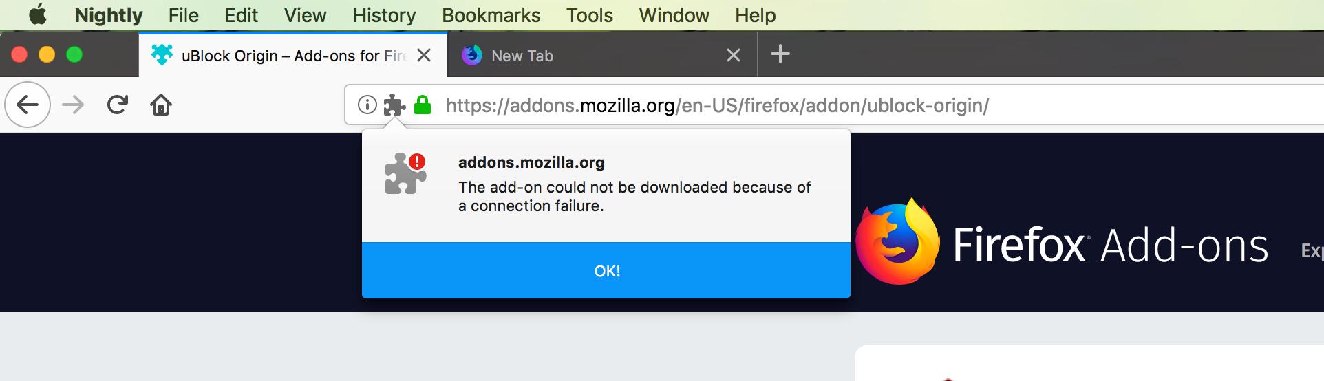Firefox Addon Download Failure Gastronomia Y Viajes