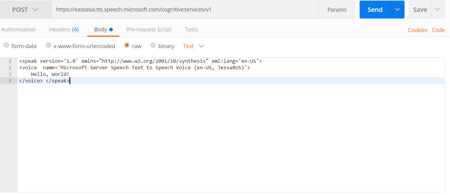 Could not get any response from API TTS  · Issue #19225