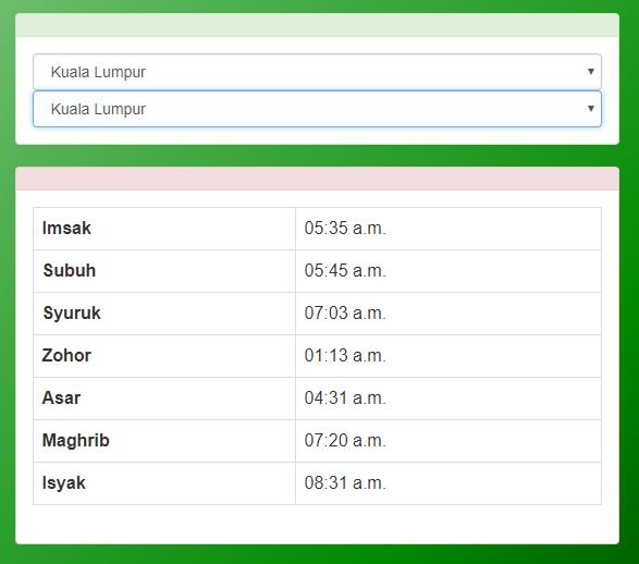 Waktu Solat Terengganu Undefined Issue 2 Afzafri Waktu Solat Api Github