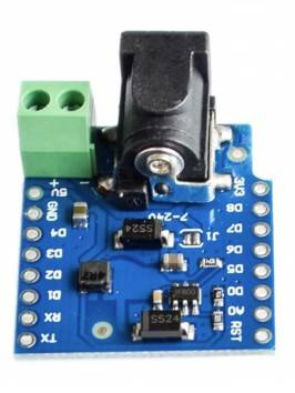 Wemos DC power shield