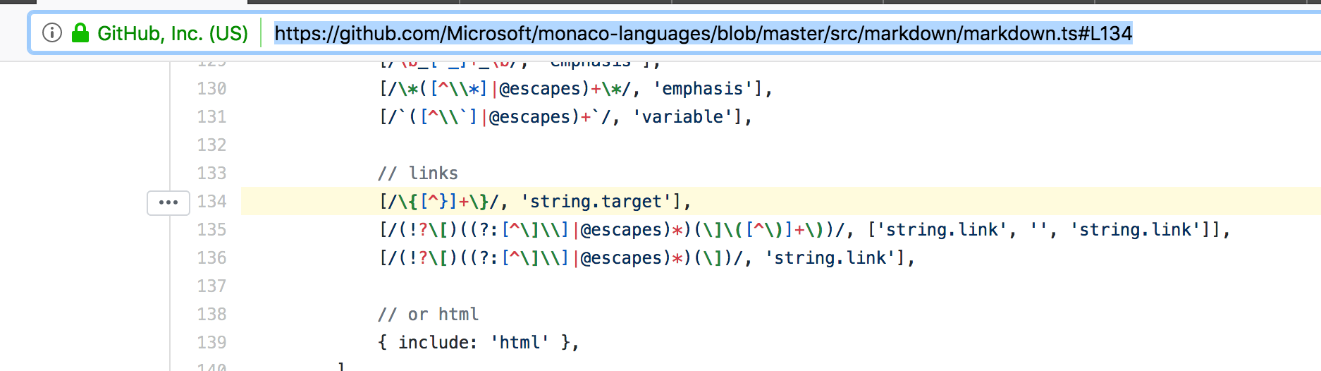markdown bug · Issue #1107 · microsoft/monaco-editor · GitHub
