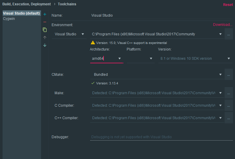 How to use librealsense in CLion? · Issue #3782