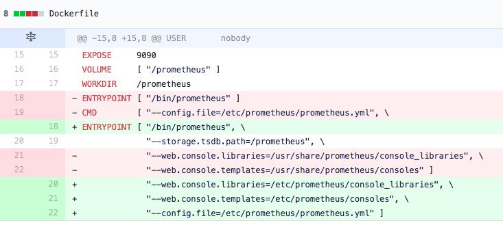 Prometheus v2 6 0-rc 0 changes container args, breaking prometheus