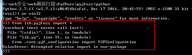 ValueError: Attempted relative import in non-package · Issue #11