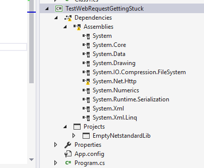 Repeated http requests get stuck and cause client-side