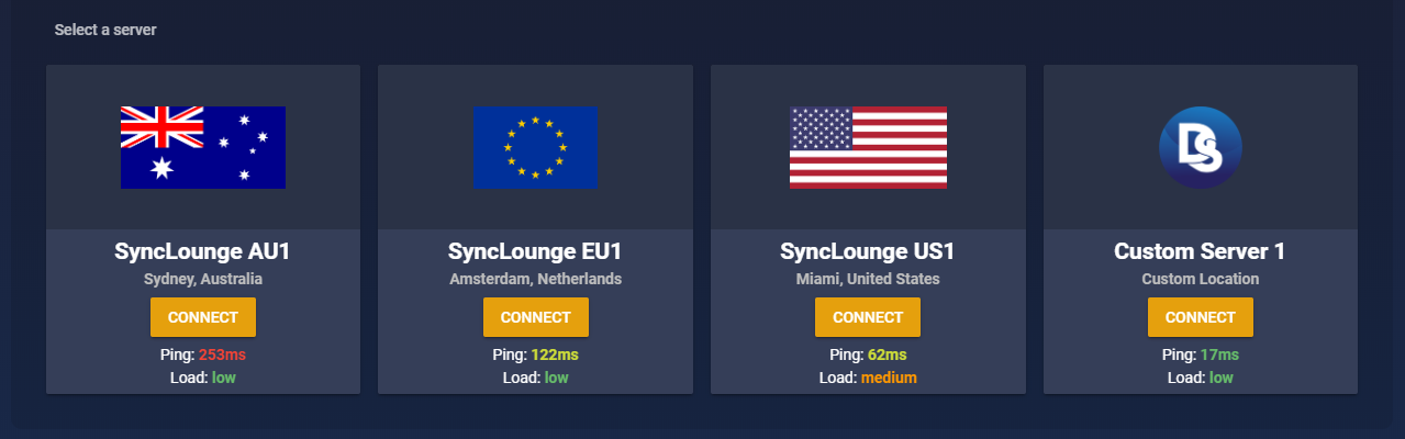 Custom Server Example