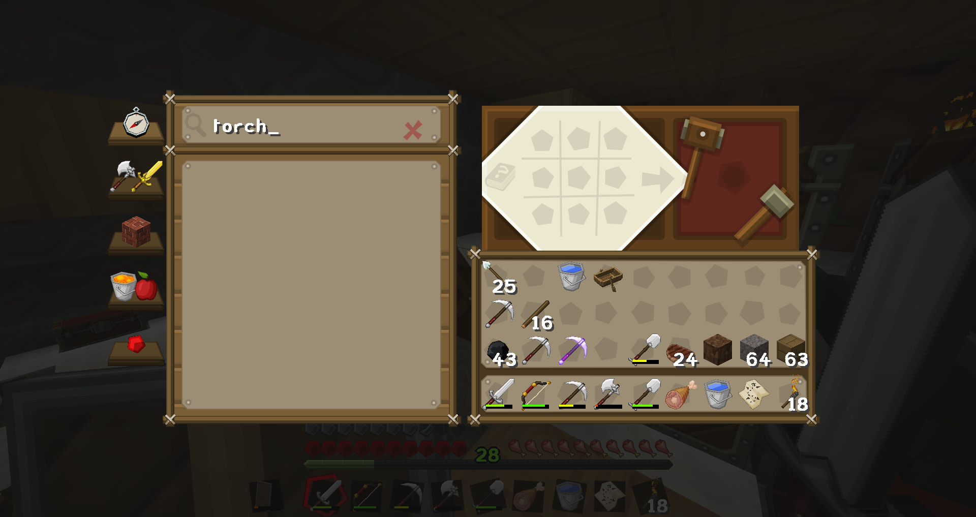 1 12 Crafting Recipe Search Not Working Support Bug Reports Forge Forums