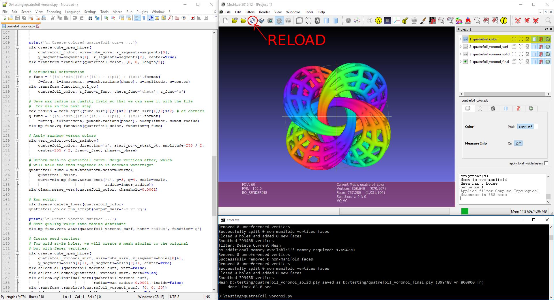 GitHub - 3DLIRIOUS/MeshLabXML: Create and run MeshLab XML