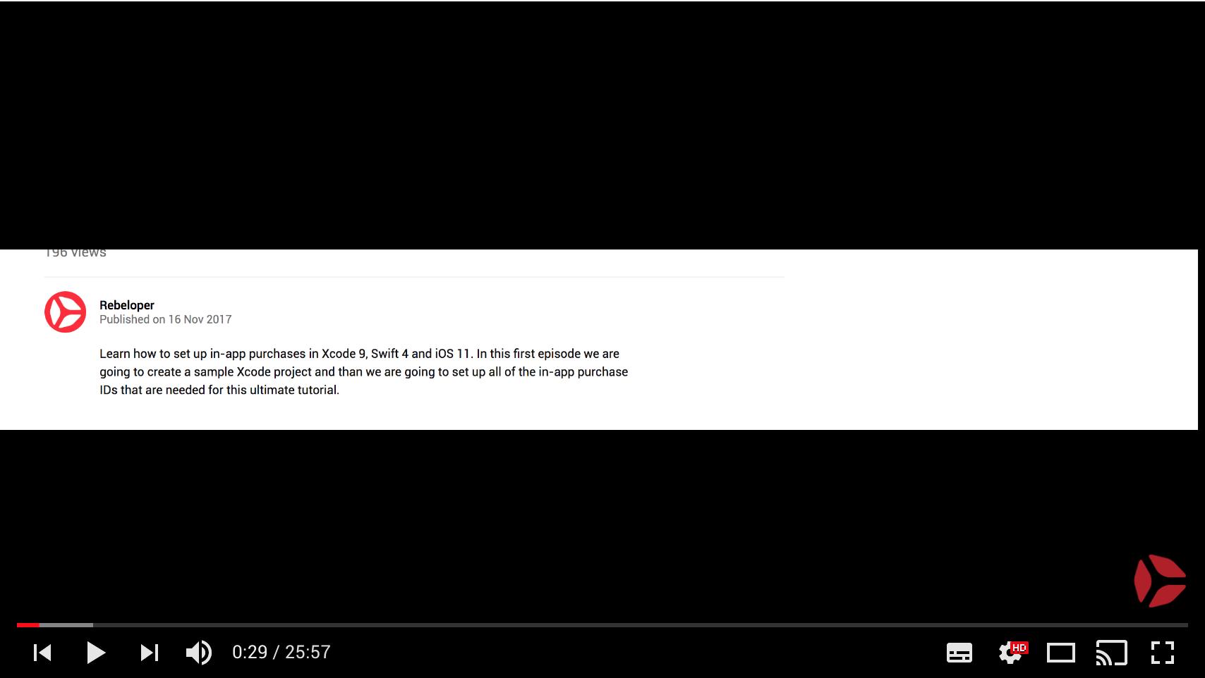 YouTube Video Documentation · Issue #326 · bizz84
