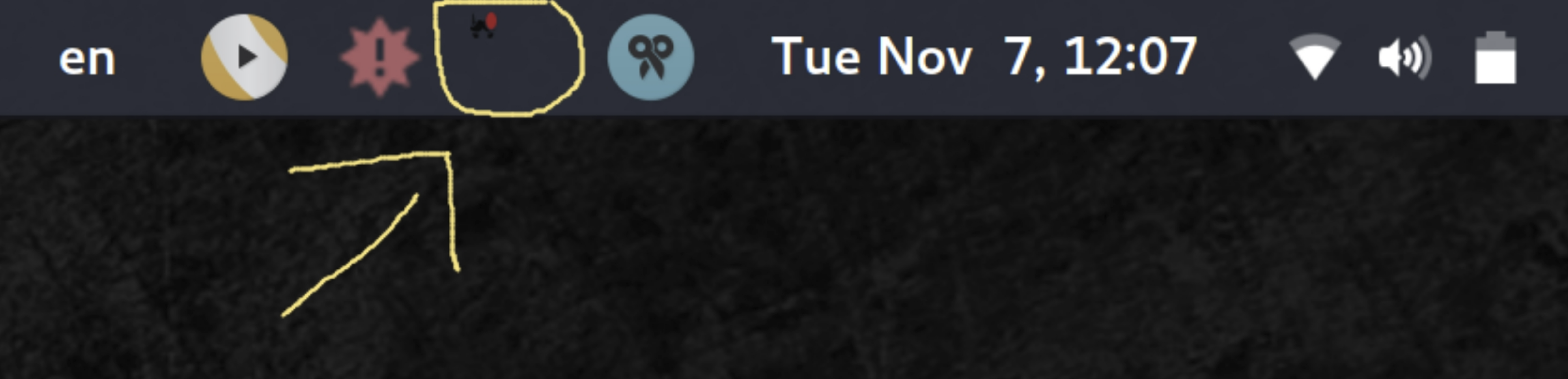 Tray icon too small / not scaling on HiDPI screen [Linux