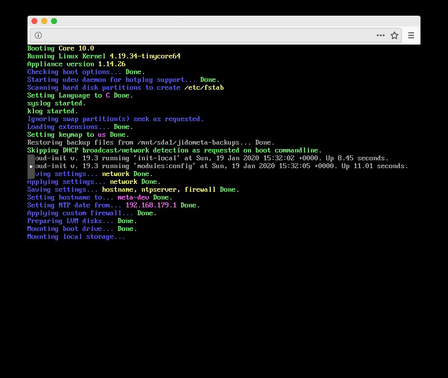 tinycore-cloud-init