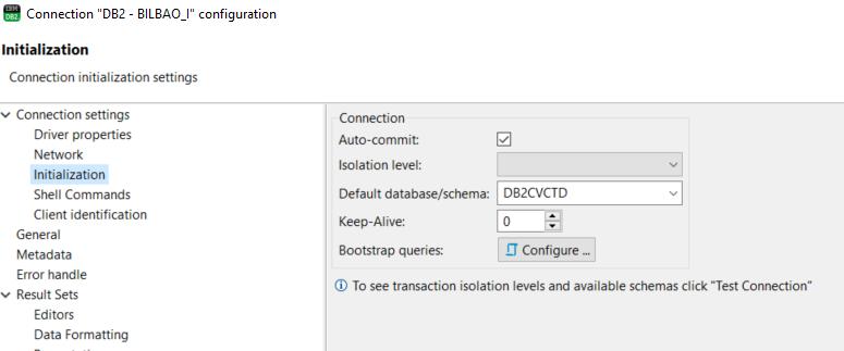 Active Catalog/schema list not working · Issue #2348 · dbeaver