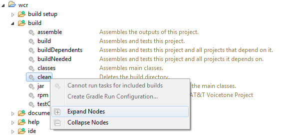 Cannot run tasks for included builds
