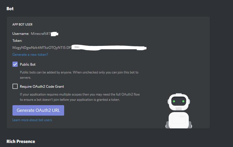The provided token is invalid! · Issue #276 · DiscordSRV