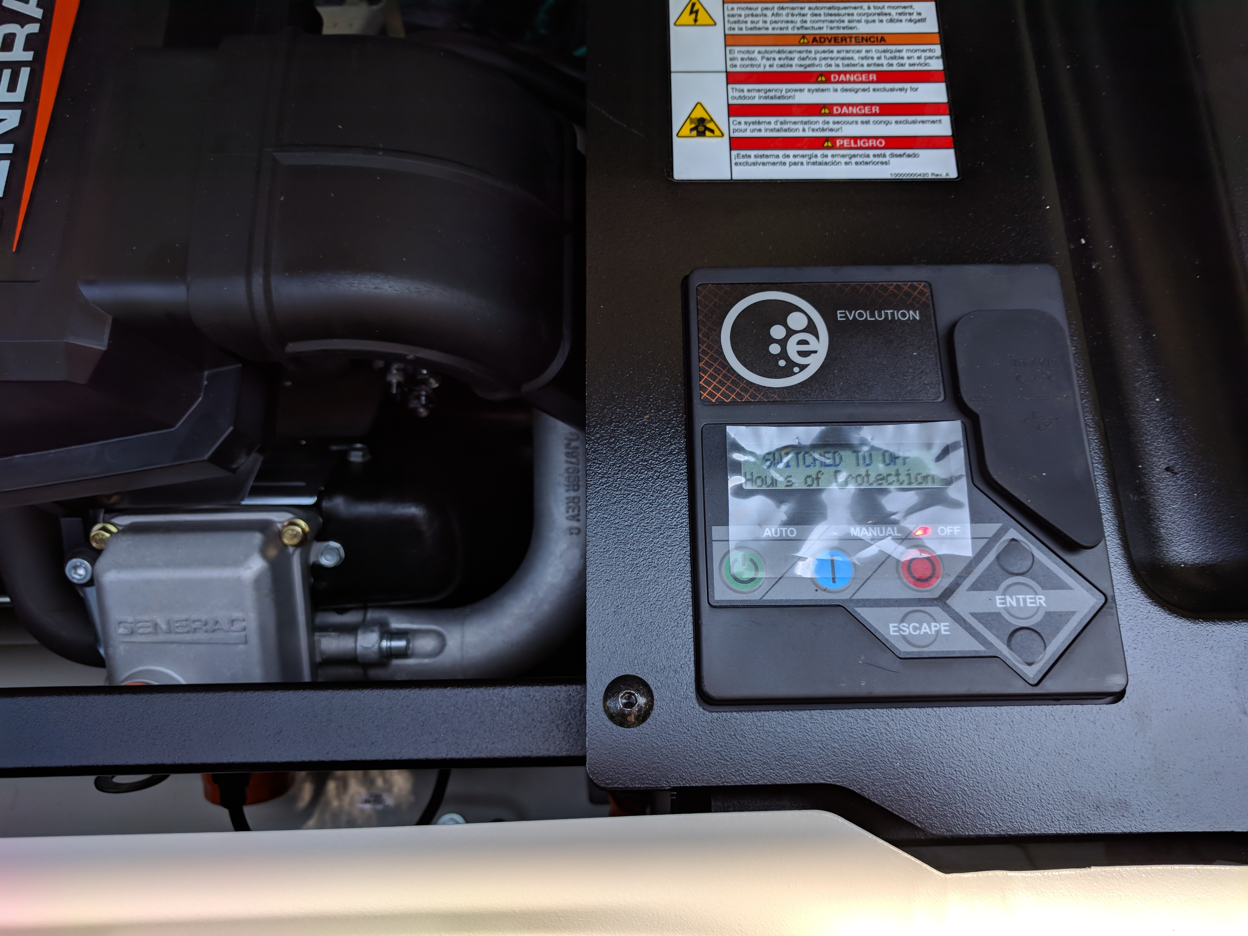Incorrect amperage and power reported on model G0071420 22KW/999