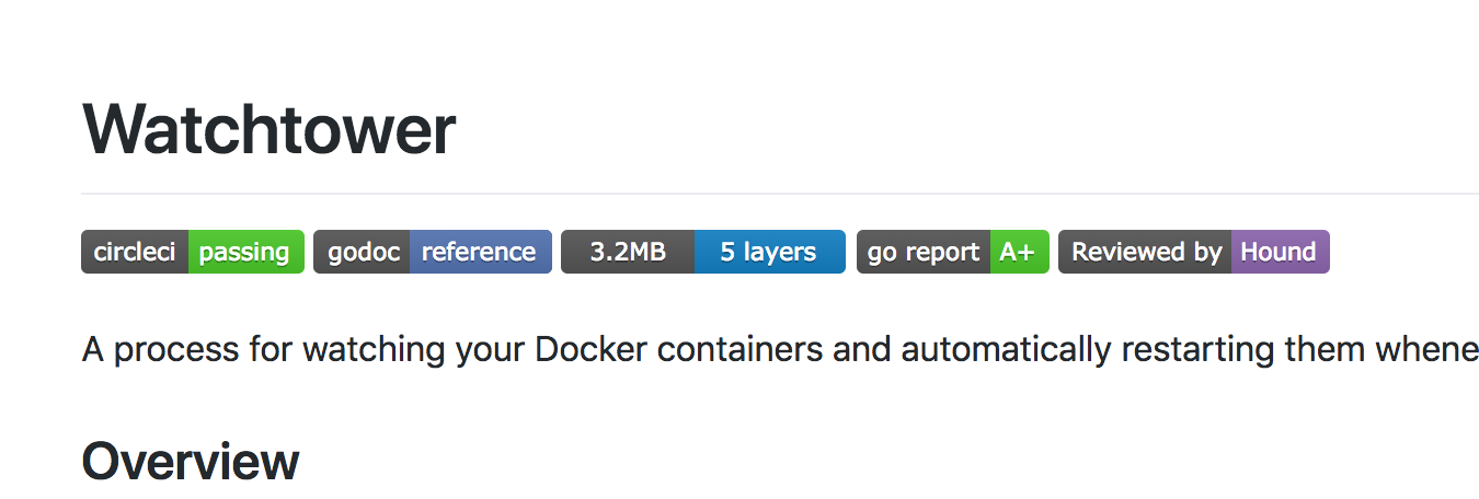 Watchtower - 自动更新正在运行的Docker容器 - Go开发 - 评论