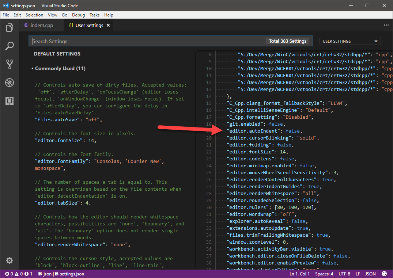 How to get rid of block cursor in dev c download