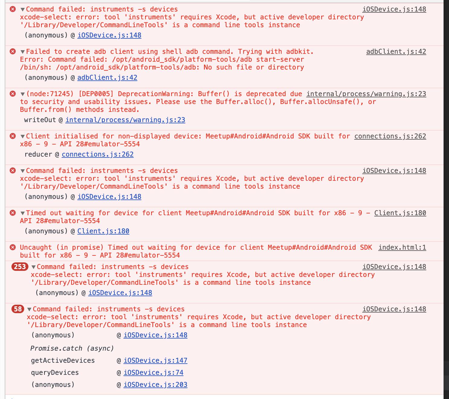 Flipper not showing app · Issue #510 · facebook/flipper · GitHub