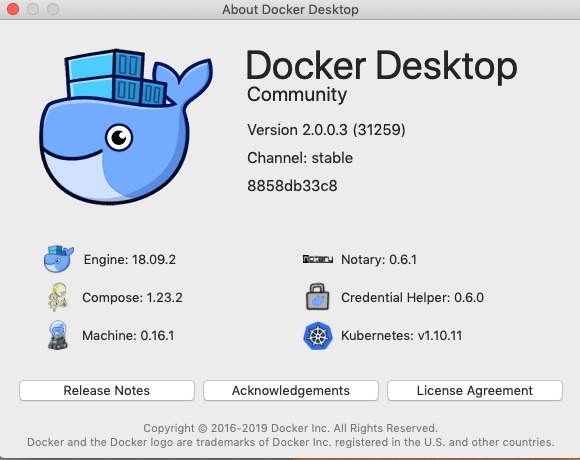 Docker for Mac crashes shortly after wake-up (Mojave