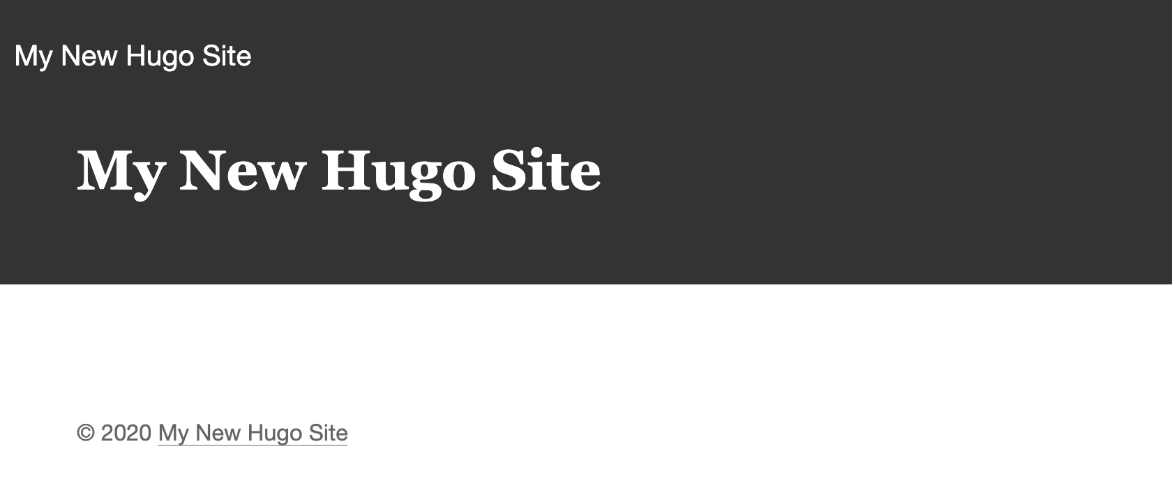 FireShot Capture 003 - My New Hugo Site - My New Hugo Site - localhost