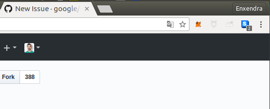 Google Sign-In button not shown in Chrome · Issue #445