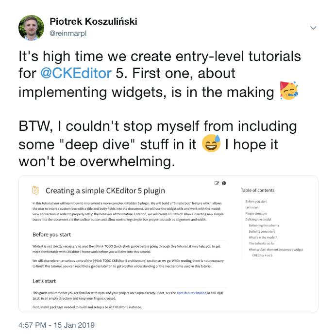 Docs: Create a feature (plugin) development guide showcasing