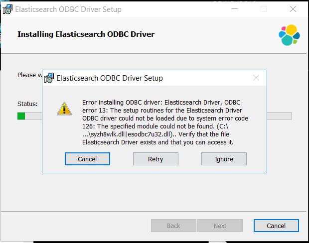 64 bit odbc driver download