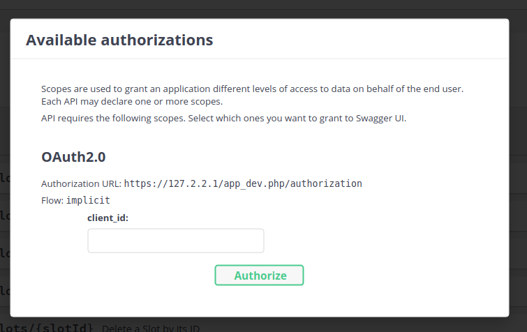 Swagger UI OAuth2 not working due to missing oauth2-redirect