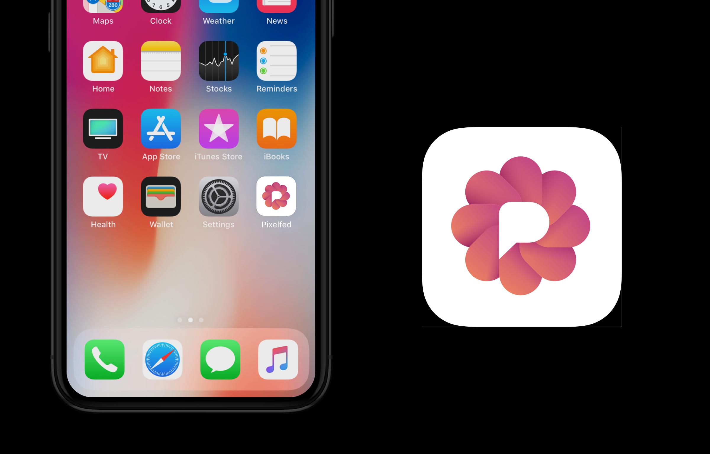 Pixelfed - app icon