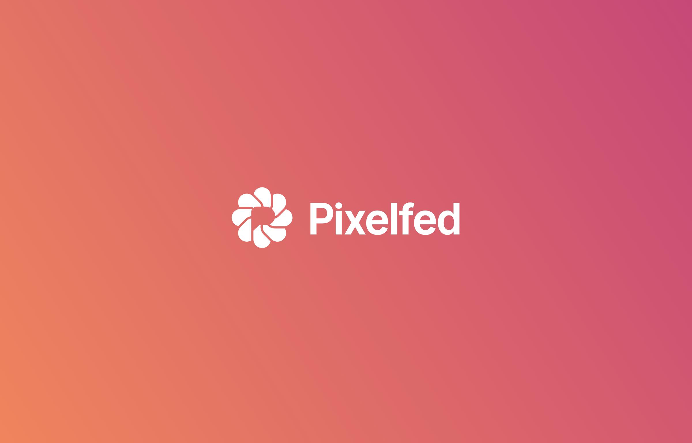 Pixelfed - big inverted