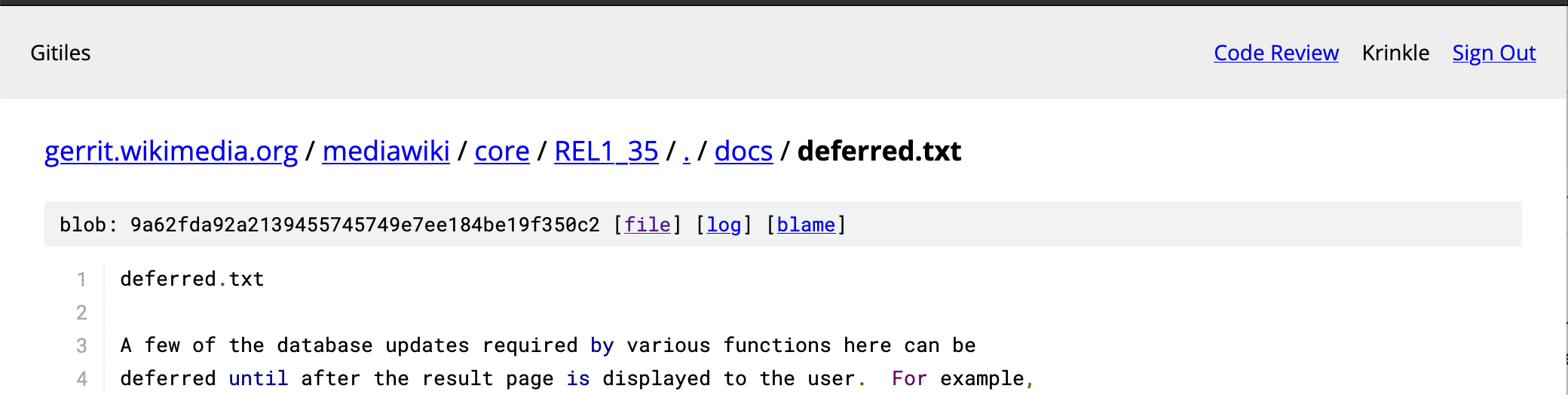 Screenshot txt file