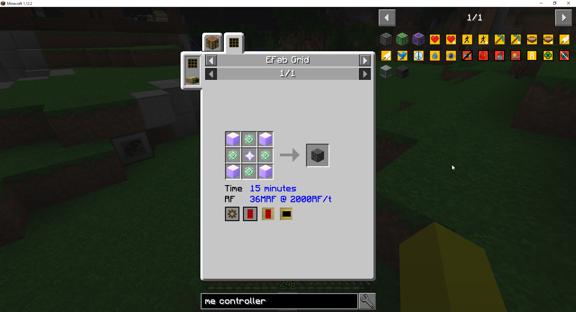 Continuum] ME Controller doesn't craft instantly with Power