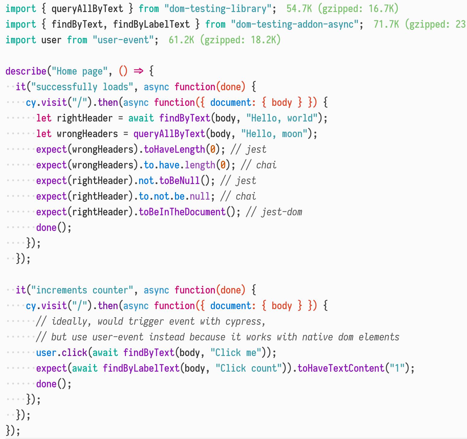 GitHub - alexkrolick/cypress-test: playing around with cypress +