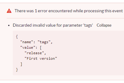 setTagsContext doesn't set tags properly · Issue #1164 · getsentry
