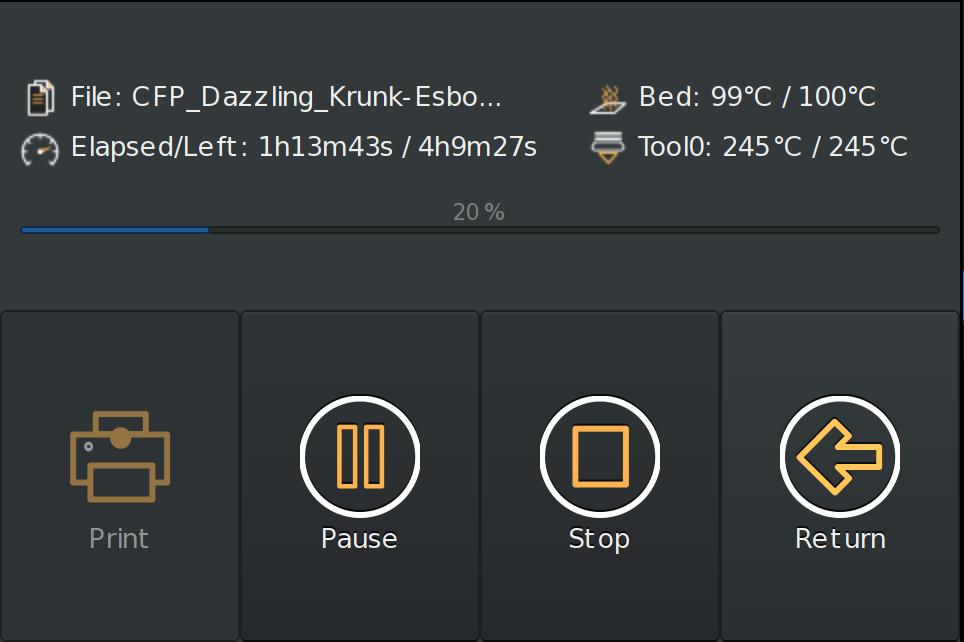 GitHub - mcuadros/OctoPrint-TFT: A OctoPrint touch interface