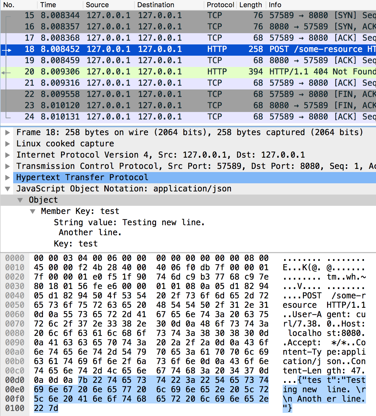ModSecurity fails to parse request body with special