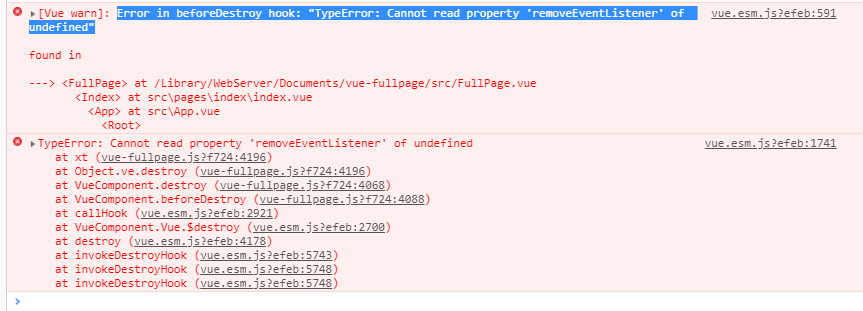 beforeDestroy hook removeEventListener undefined · Issue #44