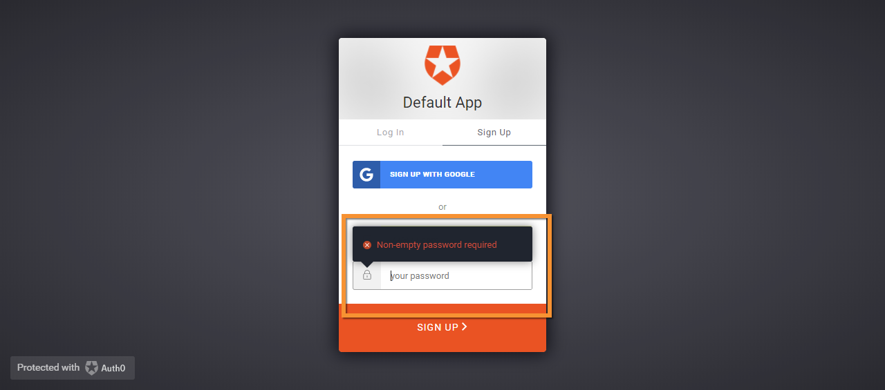 Different format in error messages  · Issue #1328 · auth0