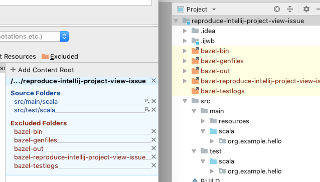 Project tree shows confusing directory structure · Issue
