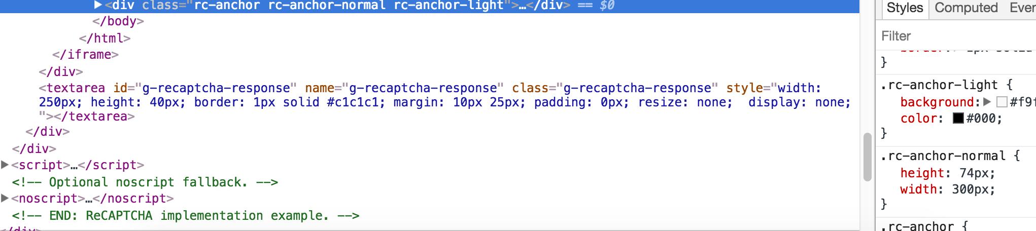 ReCaptcha is not really responsive  · Issue #61 · google/recaptcha