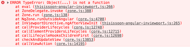 core js:1449 ERROR TypeError: Object(   ) is not a function